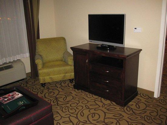 Homewood Suites by Hilton Las Vegas Airport: Living Room TV