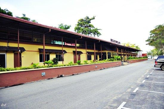 Seri Ratu Hotel & Spa: the buiding
