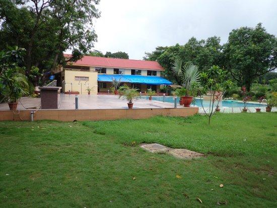 Pool area picture of daman ganga valley resort silvassa - Hotels in silvassa with swimming pool ...