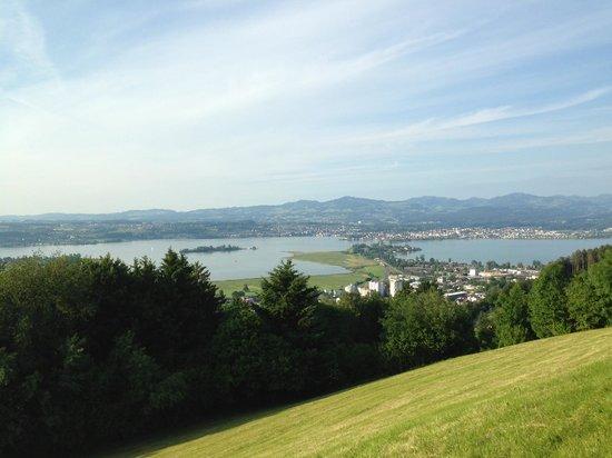 LUEGETEN: View of Lake Zurich