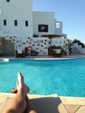 Naxos Kalimera Hotel: Eftermiddagsvy