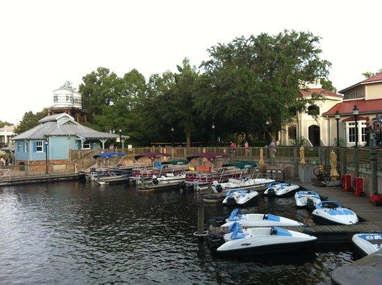 Disney's Port Orleans Resort - Riverside: Marina