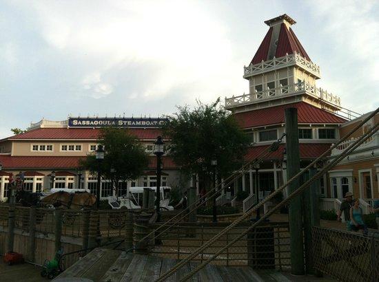 Disney's Port Orleans Resort - Riverside: Main House/Lobby