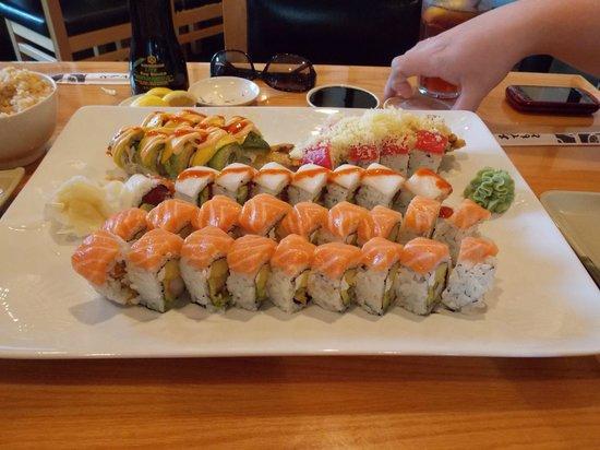 Osaka Japanese Hibachi Steakhouse & Sushi Bar: Oh yeah!