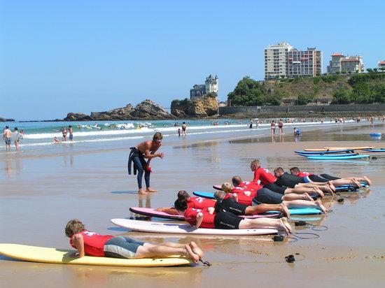 Ecole de surf Jo Moraiz - Day Classes : cours surf