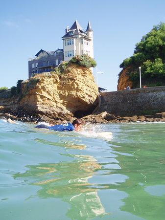 Ecole de surf Jo Moraiz - Day Classes : take off
