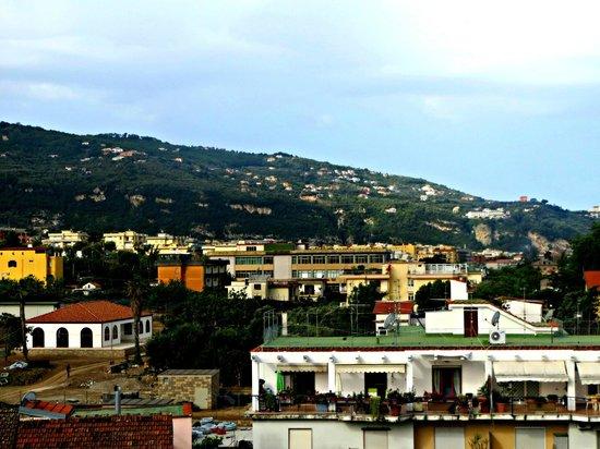 Hotel Caravel Sorrento: Ausblick vom Bett