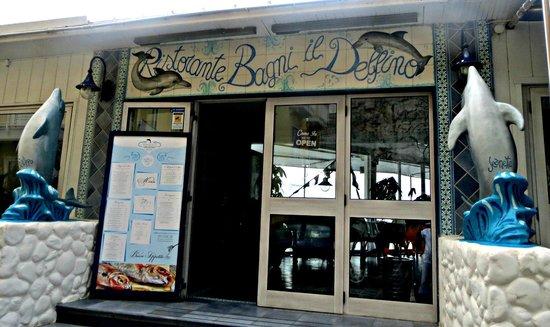 Ristorante Bagni Delfino: Eingang