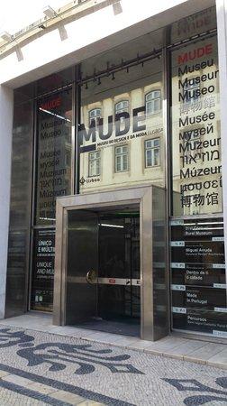 MUDE-Museu do Design e da Moda, Lisboa.