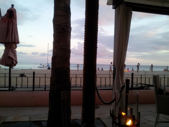 Azure Restaurant: A view from our seats