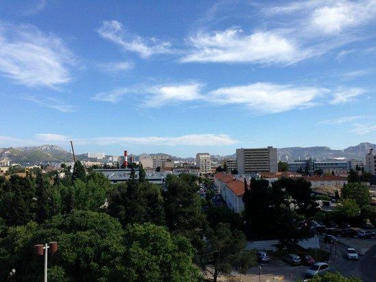 Hipark Marseille : Vue depuis le balcon