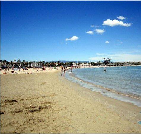Hotel Best Sol D'Or: пляж