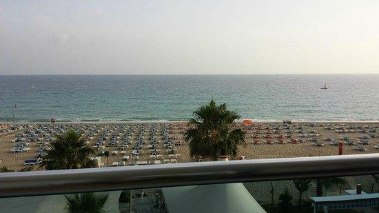 Azak Beach Hotel: Underbar utsikt.
