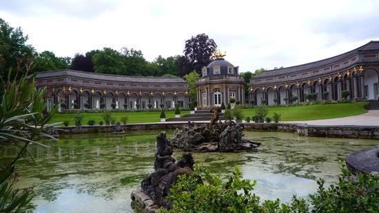 Hermitage Castle (Altes Schloss Ermitage): le Belvedere