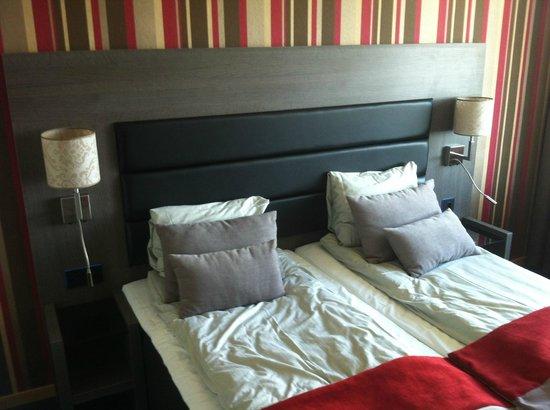 Hotell Hallstaberget: Säng