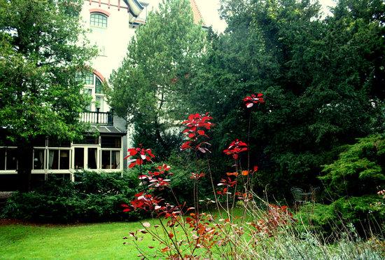 Hotelvilla Imhof: tuin met serre van hotel imhof