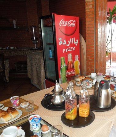 Hotel Texuda : petit dejeuner