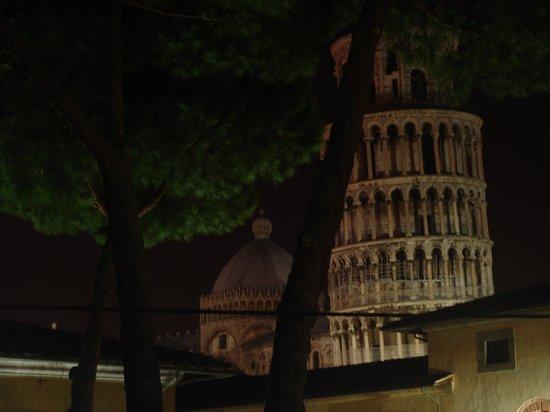 Hotel Villa Kinzica: Torre desde la habitación