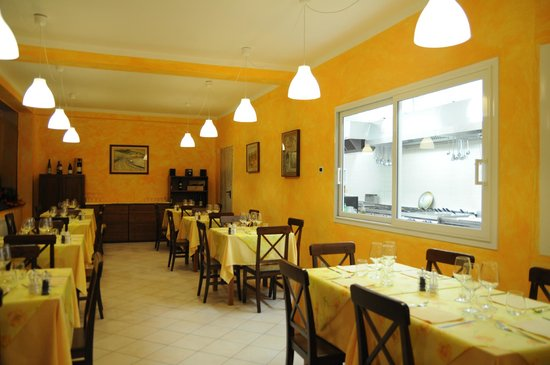 Locanda del Sorriso: cucina a vista..