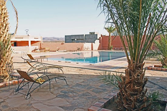 Kasbah Meteorite: la piscine
