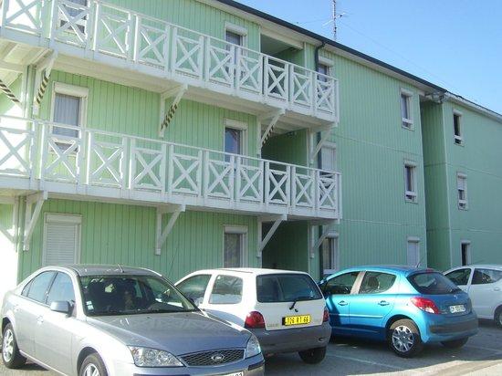 Fasthotel Perpignan: vue d'une partie de l'hotel