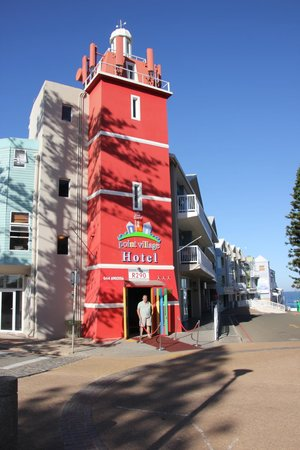 Point Village Hotel: The Quirky Facade