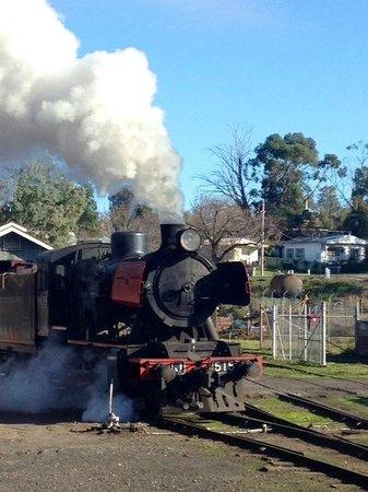 Victorian Goldfields Railway: Maldon Railway Station