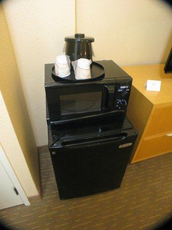La Quinta Inn & Suites LAX: Mini Nevera y micro