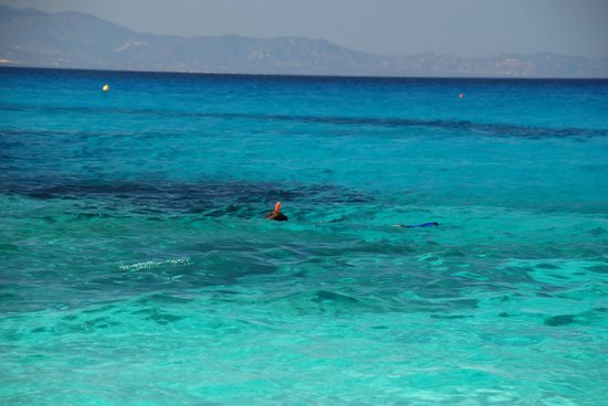 water on the Cala Goloritze