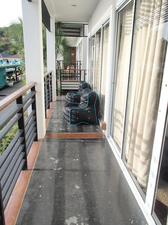 Mantra Samui Resort: our little balcony