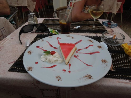 Braganca Mar: Cheesecake.