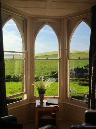 Cove House Bed and Breakfast: View from Hambury Room