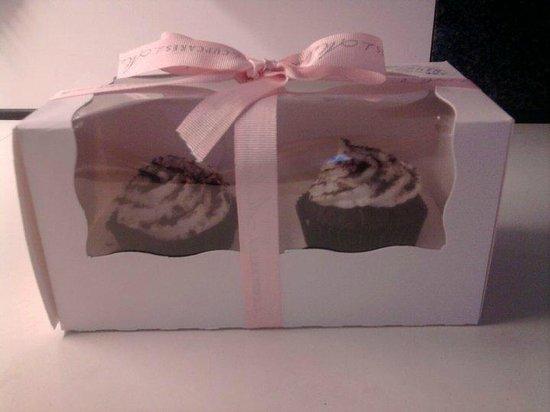 Le Cupcakes di Melissa: Cupcakes nella loro confezione