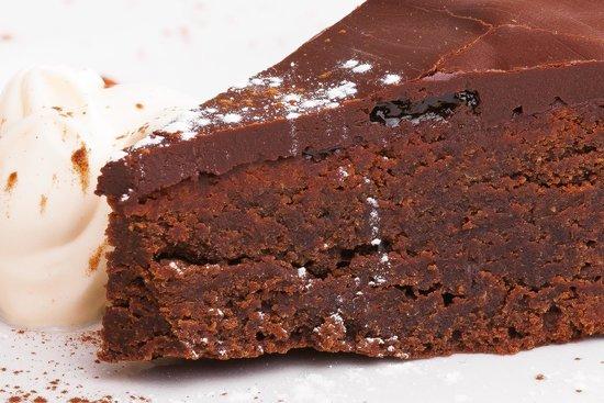 The Lemon Tree Cafe - Bistro: Gluten Free Chocolate and Almond Cake