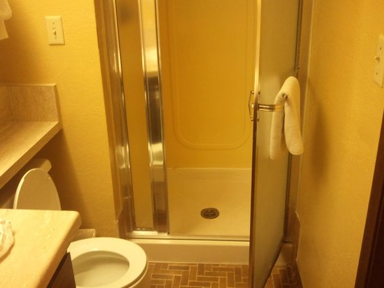 Travelodge Kanab: shower