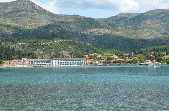 Admiral Grand Hotel : Bucht von Slano mit Hotel