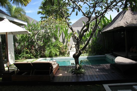 Chandra Luxury Villas Bali: Private pool