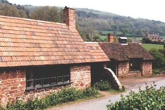 West Country Blacksmiths at Allerford Forge: picture i found of the forge on the internet