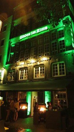 Gilden im Zims: fachada do restaurante