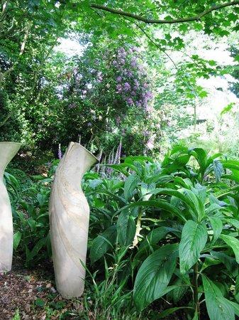 Wild Subtropical Garden: Rhodos, Fox Gloves, Twos Company by Althea Wynne