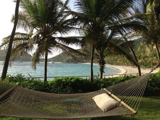 Peter Island Resort and Spa: right outside our beachfront room