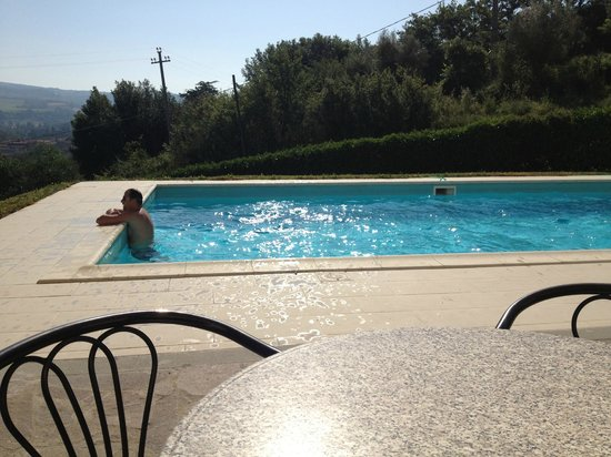 Villa Acquafredda: piscina
