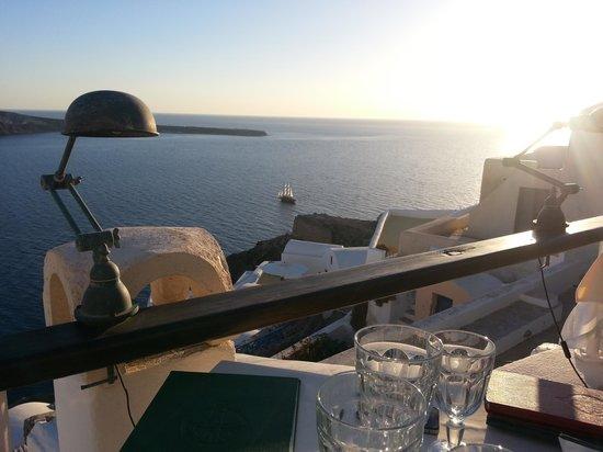Fanari Restaurant, Oia