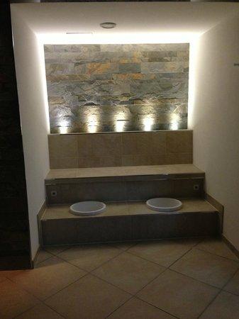 Hotel Hemizeus: SPA - Bain des pieds
