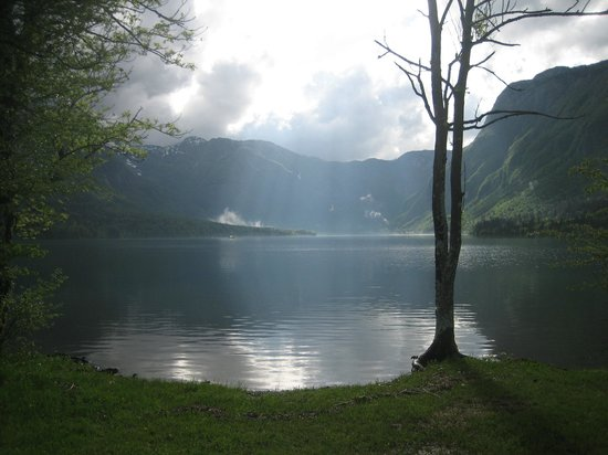 Residence Triglav: Blick zum Bohinj-See