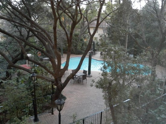 Protea Hotel by Marriott Johannesburg Balalaika Sandton: View from the room