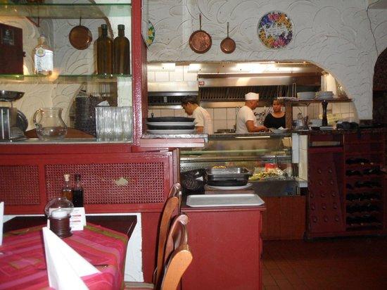 San Marco: Offene Küche