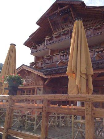 Hotel Cote Brune : esterno dell'hotel