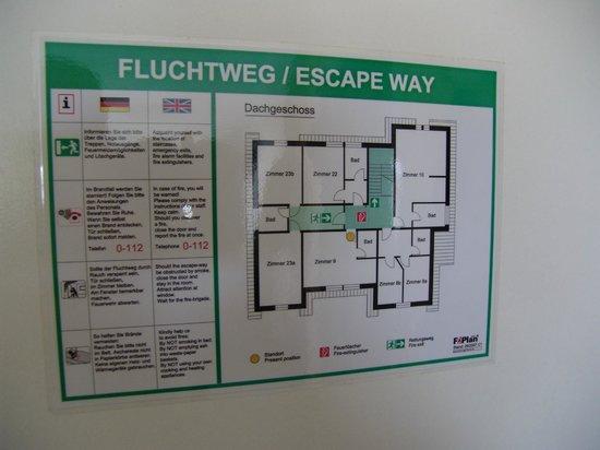 Ostseehotel Scandinavia: Grundrisse Dachgeschoss