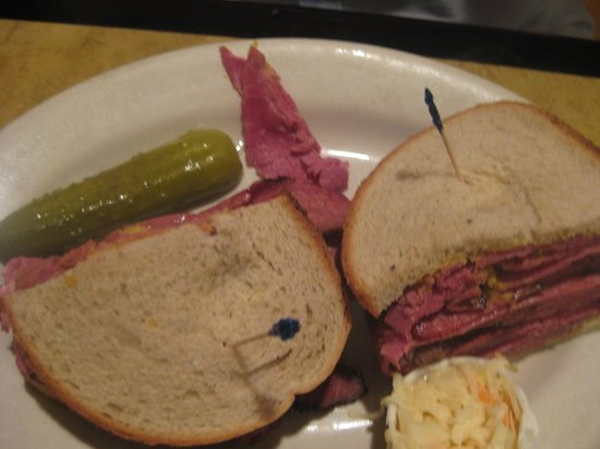 Scotty's Diner : pastrami and corned beef sandwich